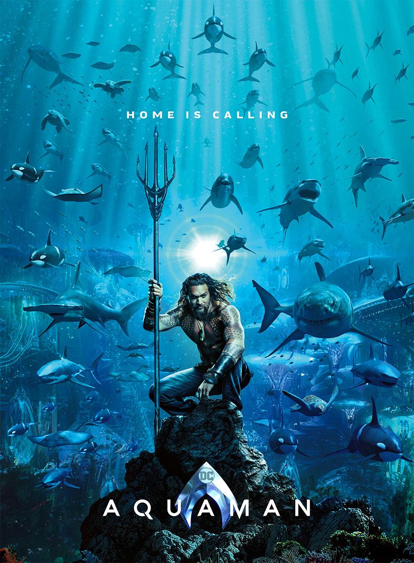 Aquaman, poster del film