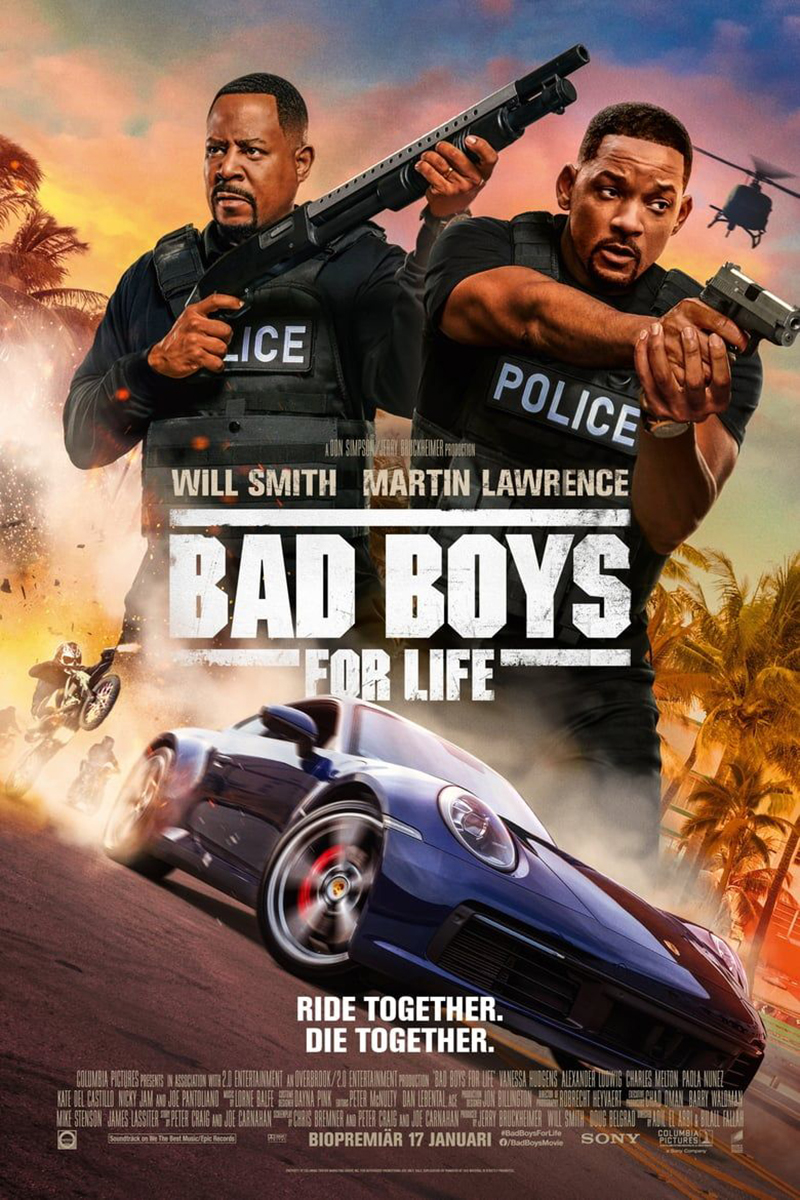 Bad Boys for Life poster e locandina