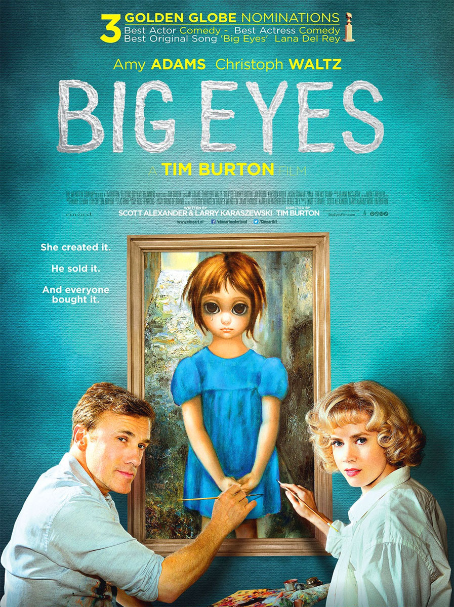 Big Eyes poster e locandina