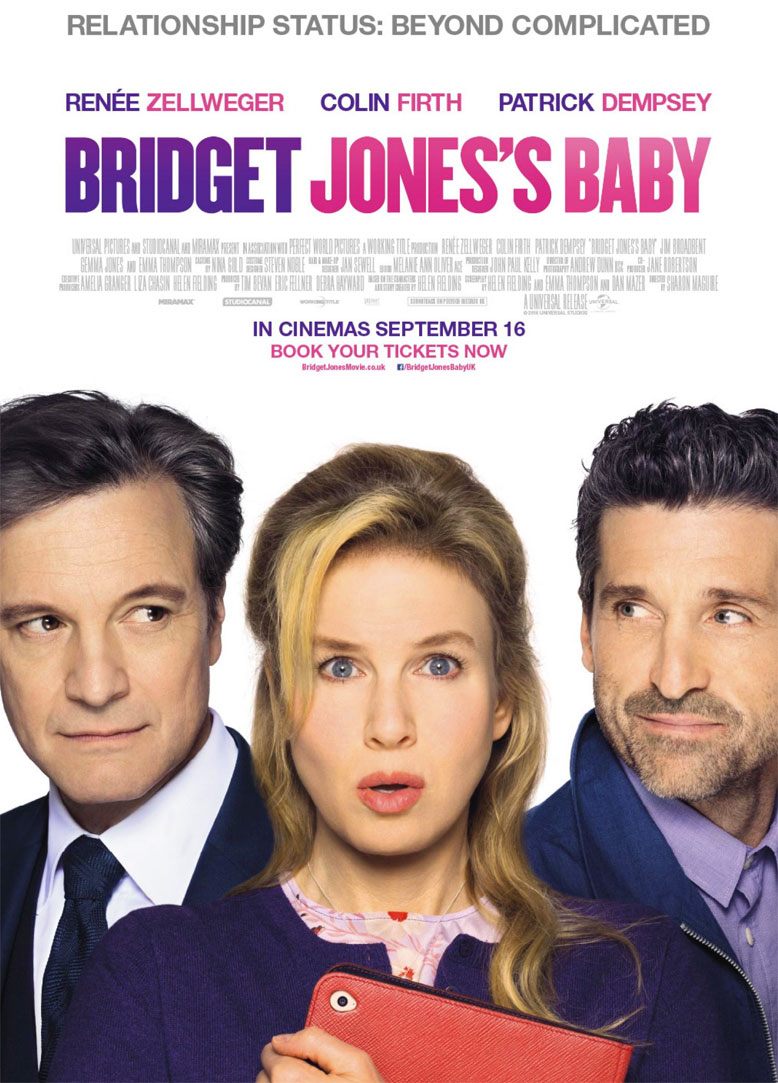 Bridget Jones's Baby locandina - poster