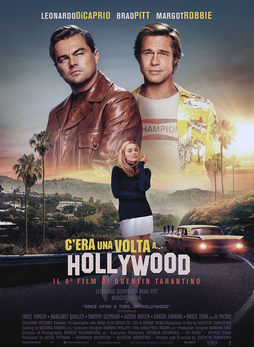 C'era una volta a Hollywood poster e locandina