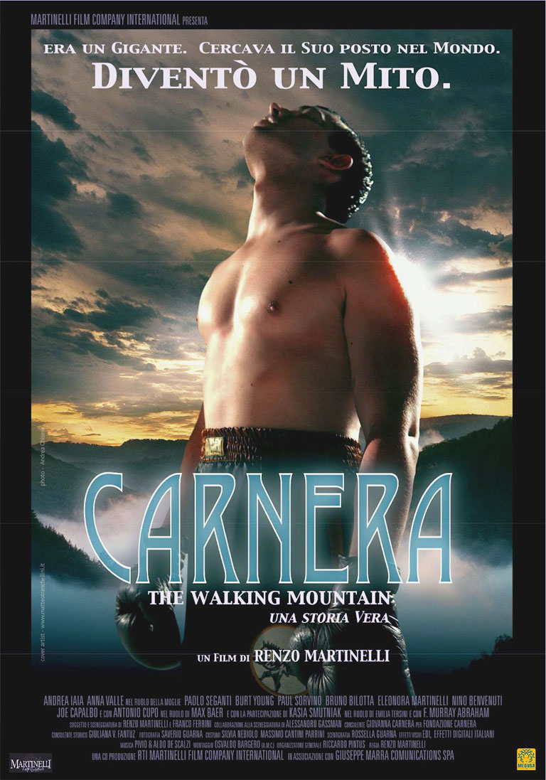 Carnera The Walking Mountain poster e locandina