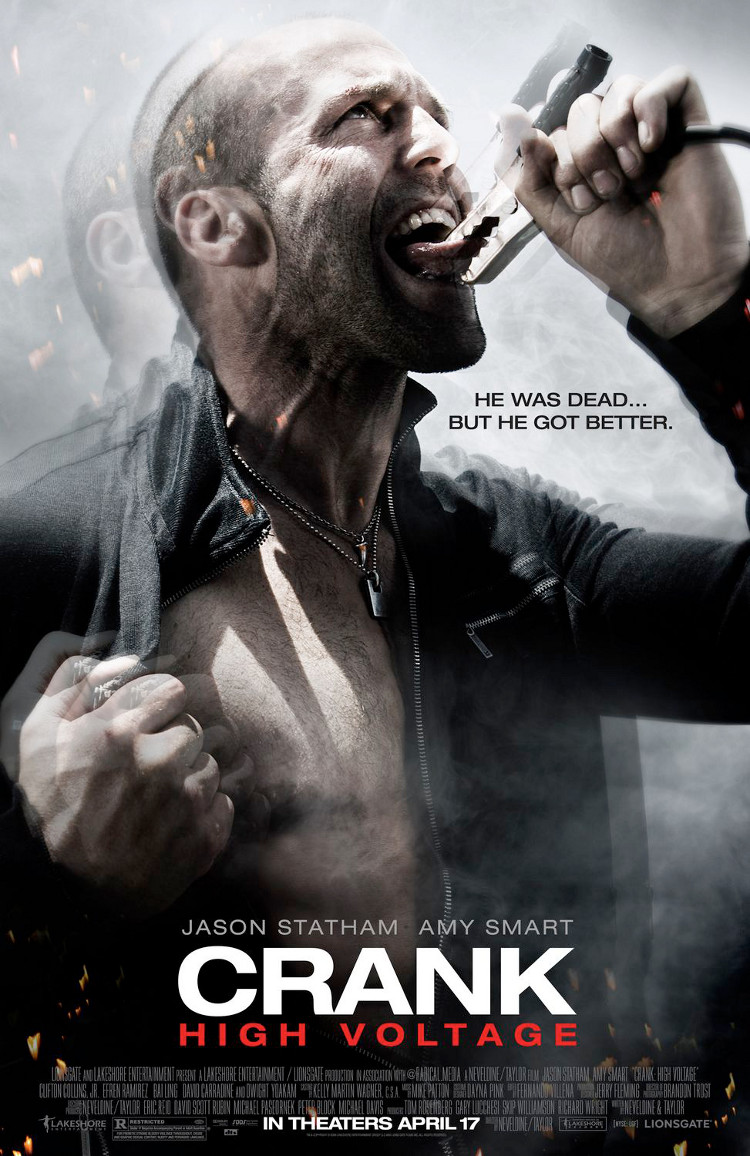 Crank: High Voltage poster e locandina