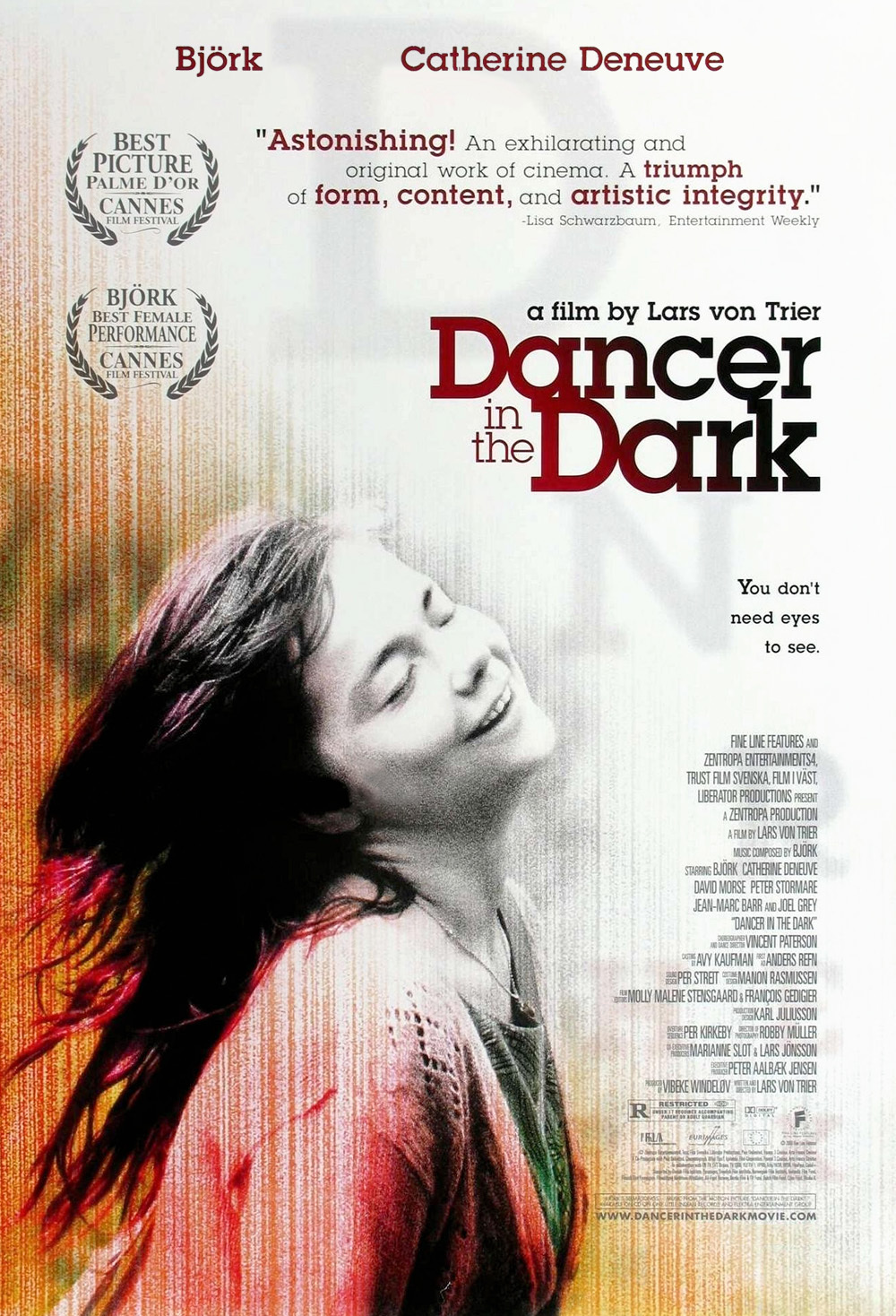 Dancer in the Dark poster e locandina