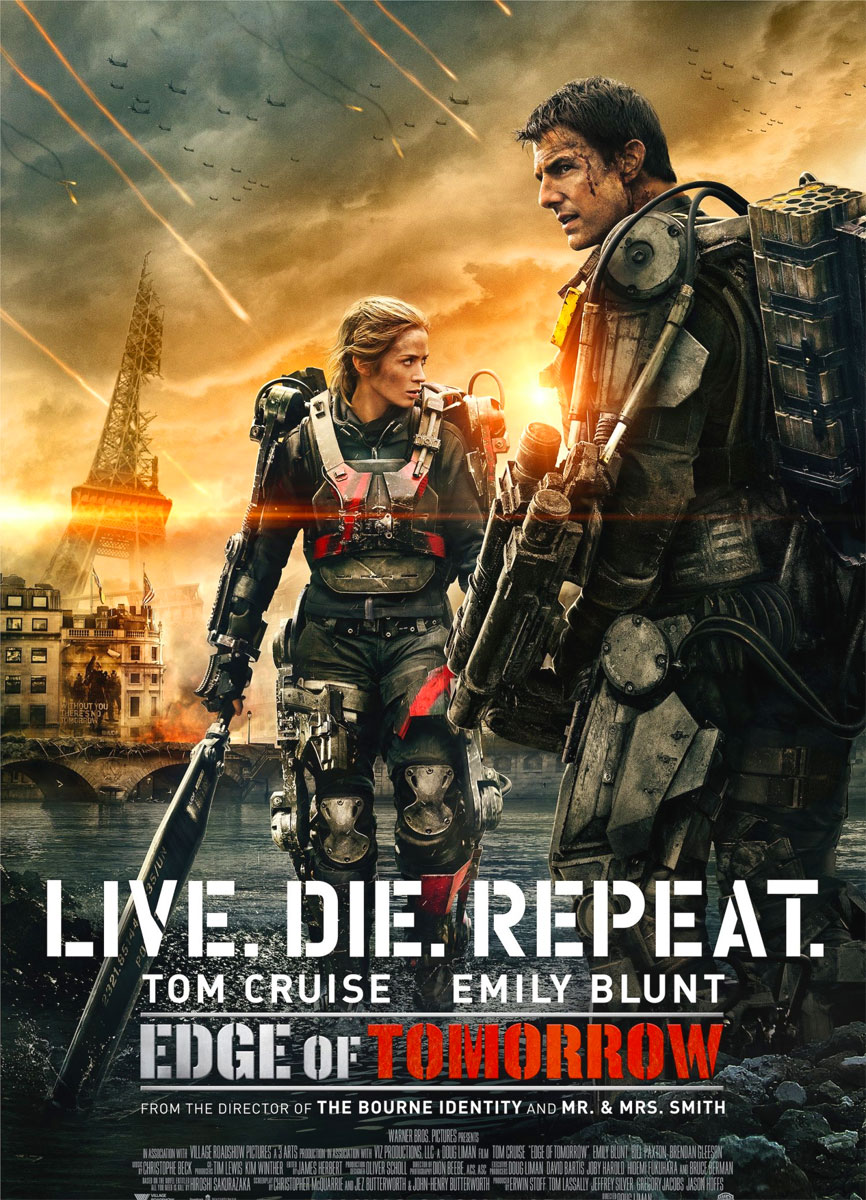 Edge of tomorrow poster e locandina