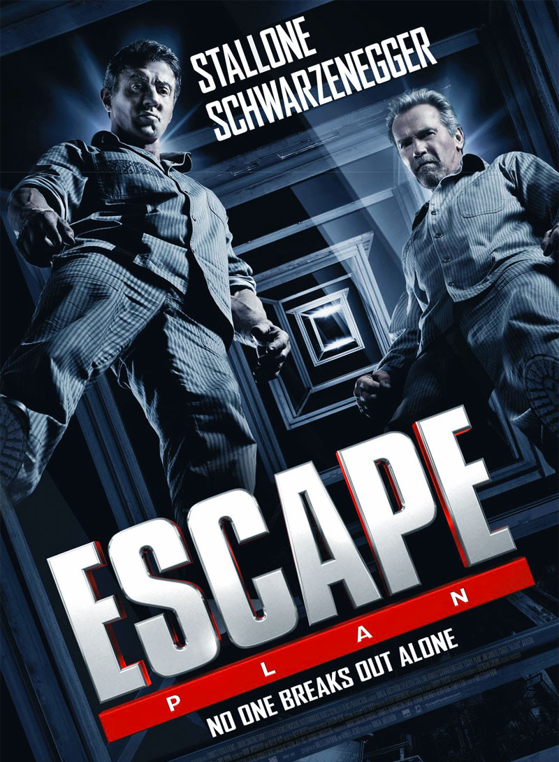 Escape Plan poster e locandina