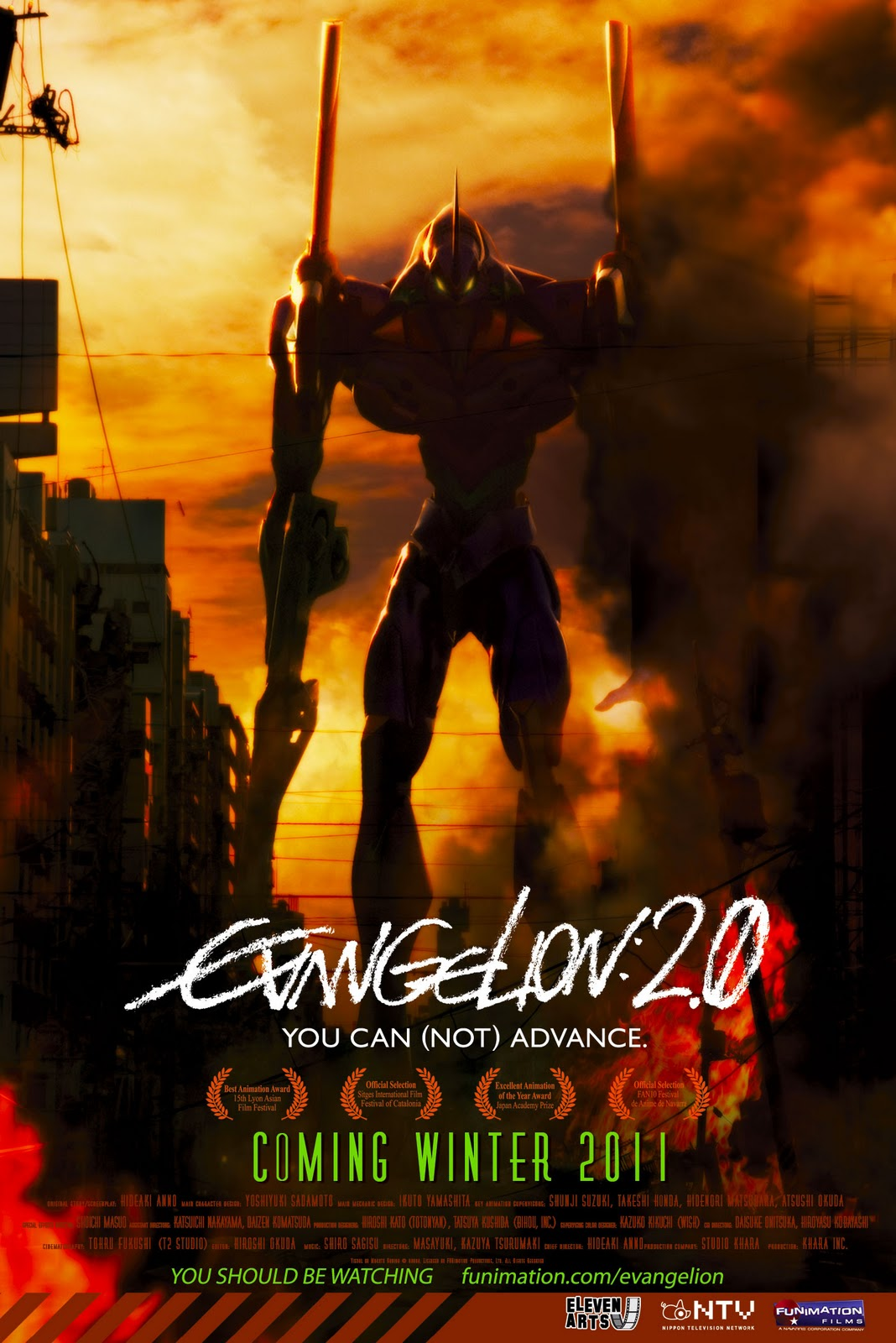 Evangelion: 2.0 You Can (Not) Advance poster e locandina