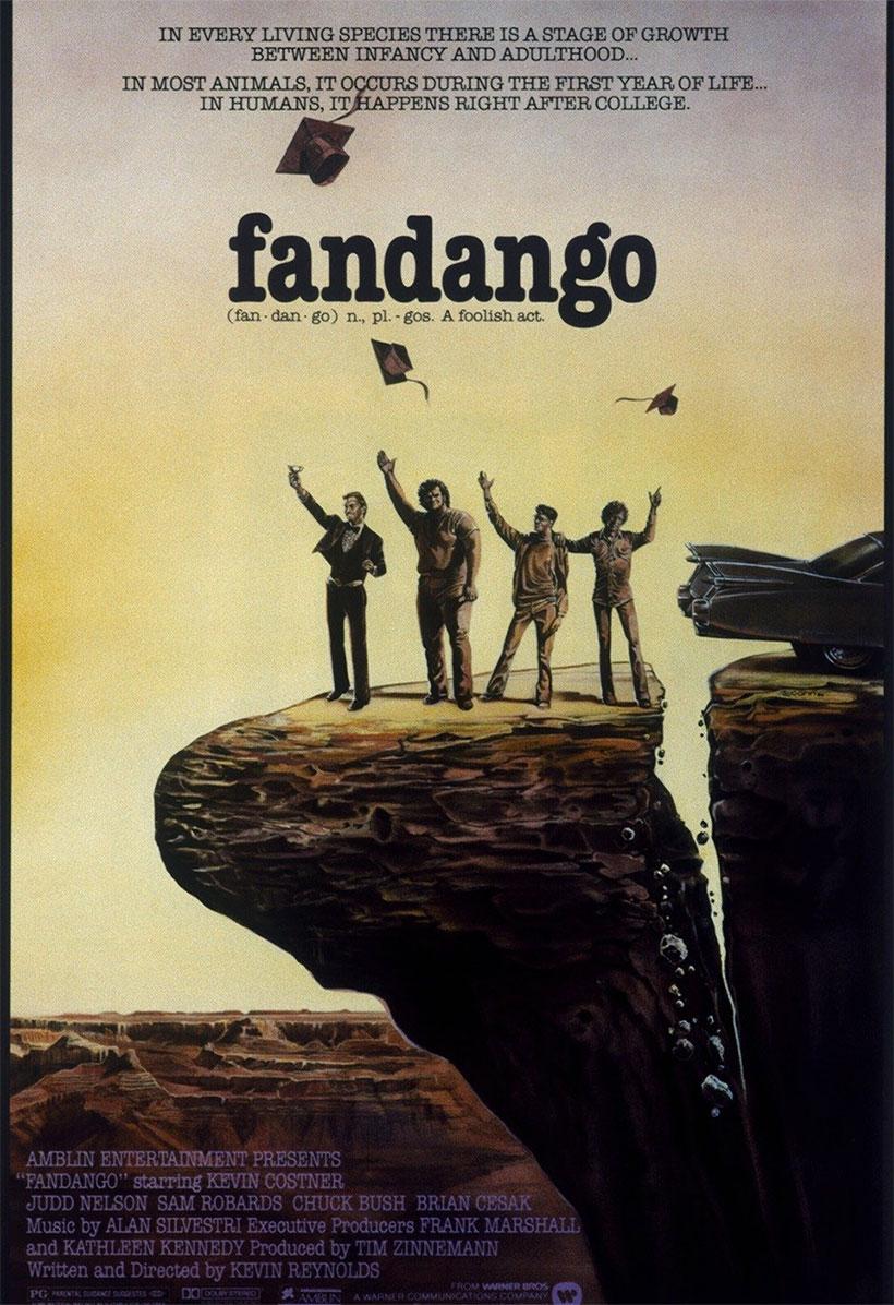 Fandango, attori, regista e riassunto del film