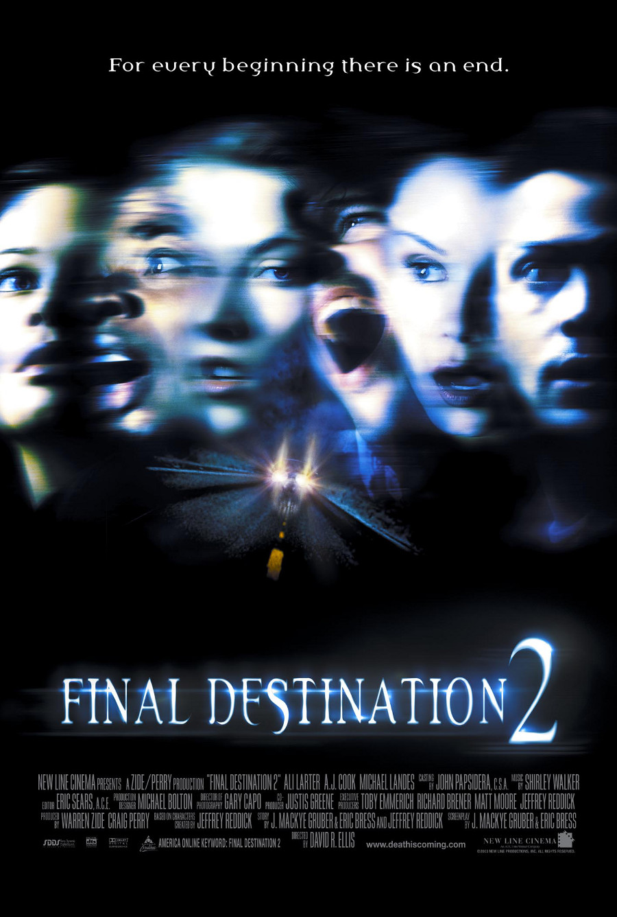 Final Destination 2 poster e locandina