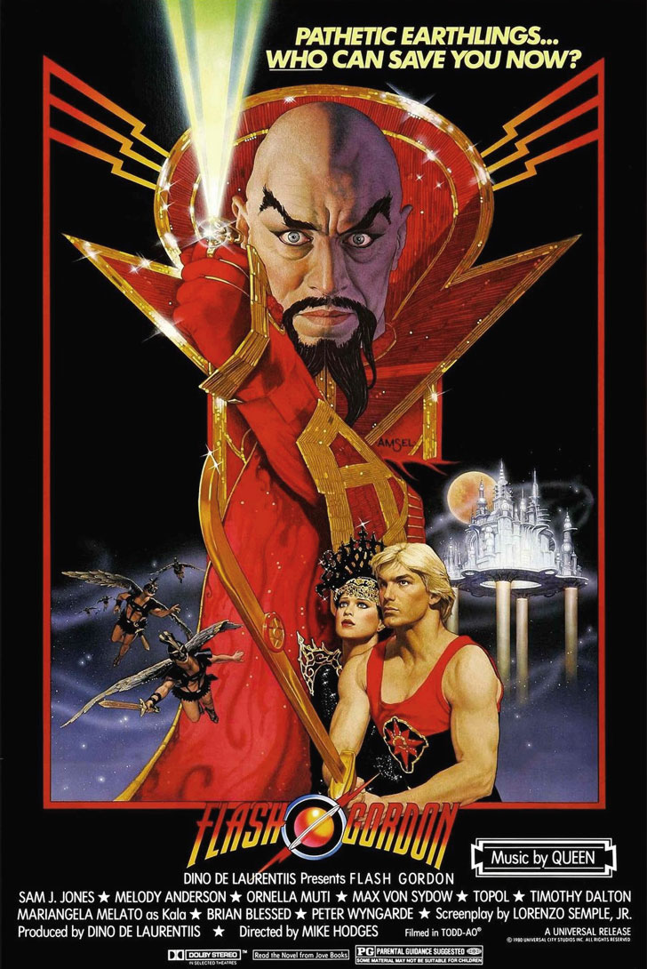 Flash Gordon poster e locandina