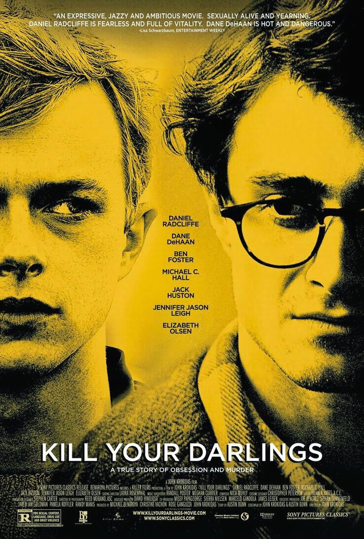 Giovani ribelli Kill Your Darlings poster e locandina