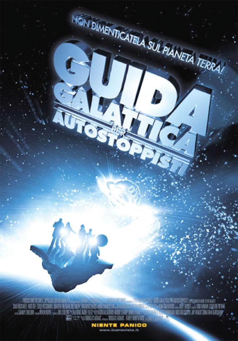 Guida Galattica per Autostoppisti: poster del film (2005)