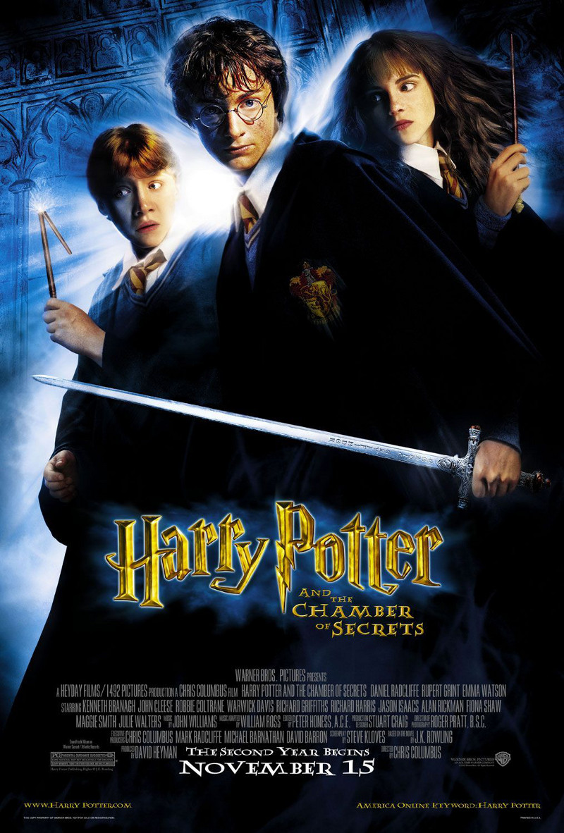 Harry Potter e la camera dei segreti poster e locandina