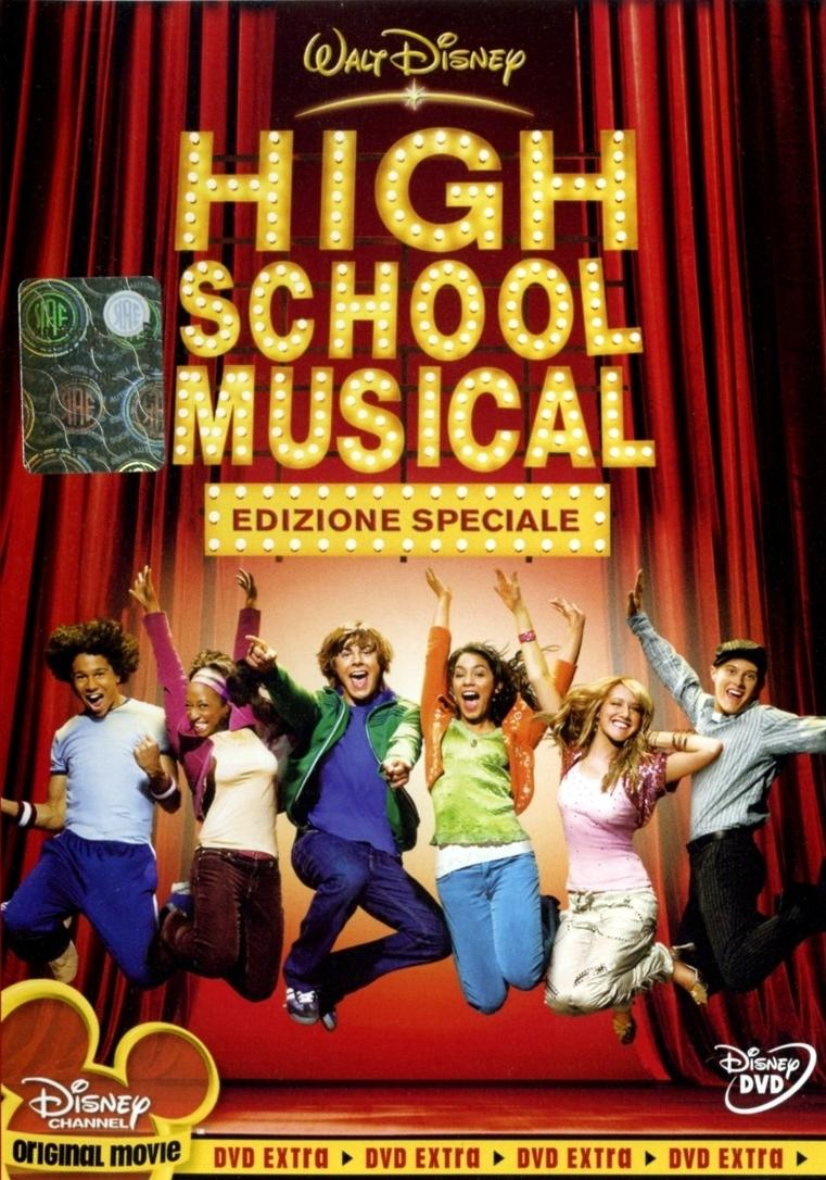 High School Musical poster e locandina