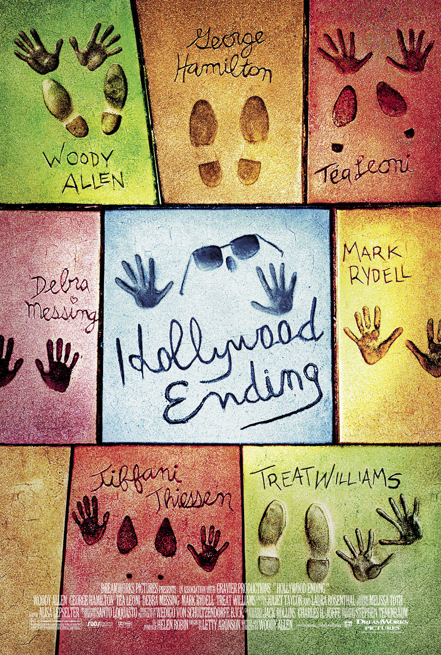Hollywood Ending poster e locandina