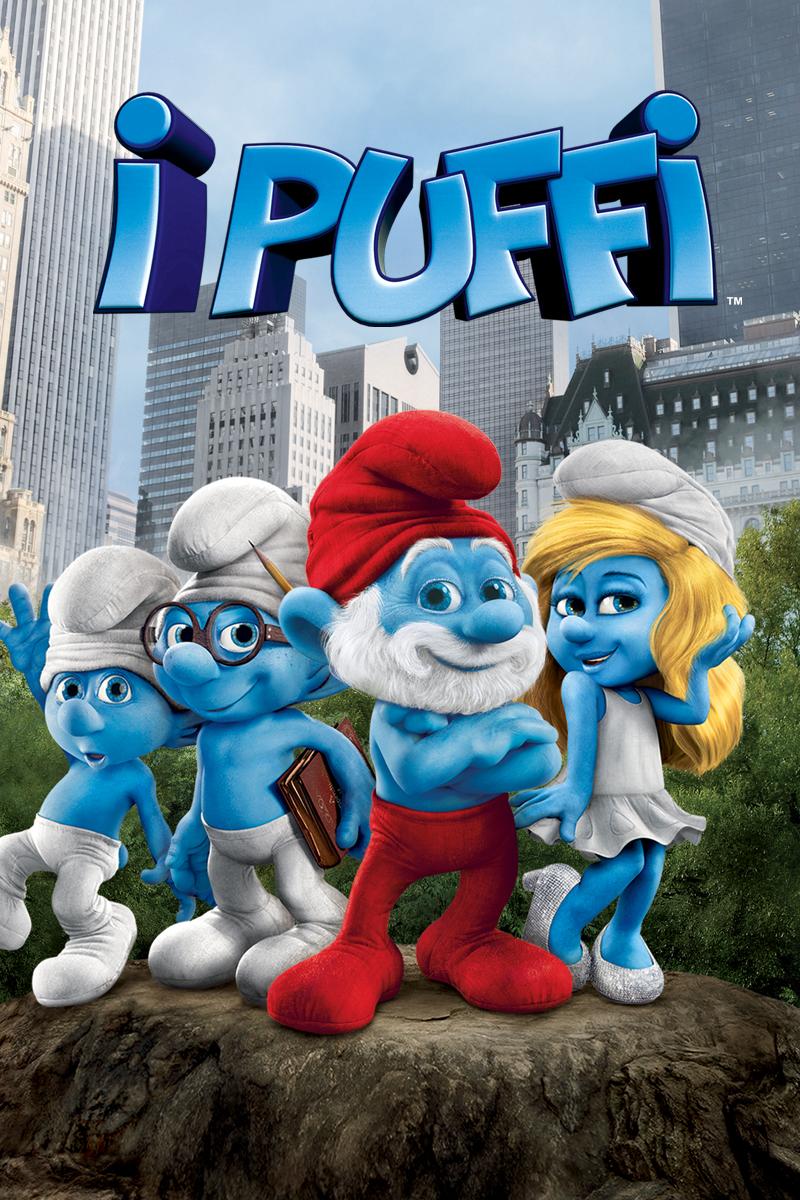 I Puffi (film), locandina e poster