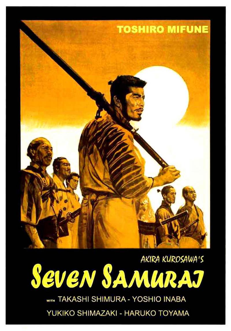 Risultati immagini per I Sette Samurai