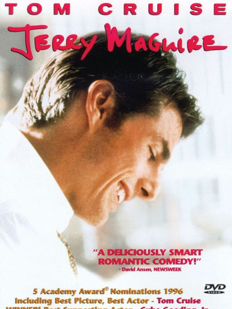jerry maguire movie analysis So there's this sports agent, jerry maguire (tom cruise), and he's got a pretty  sweet deal going on he's great at his job and it earns him a lot of money.