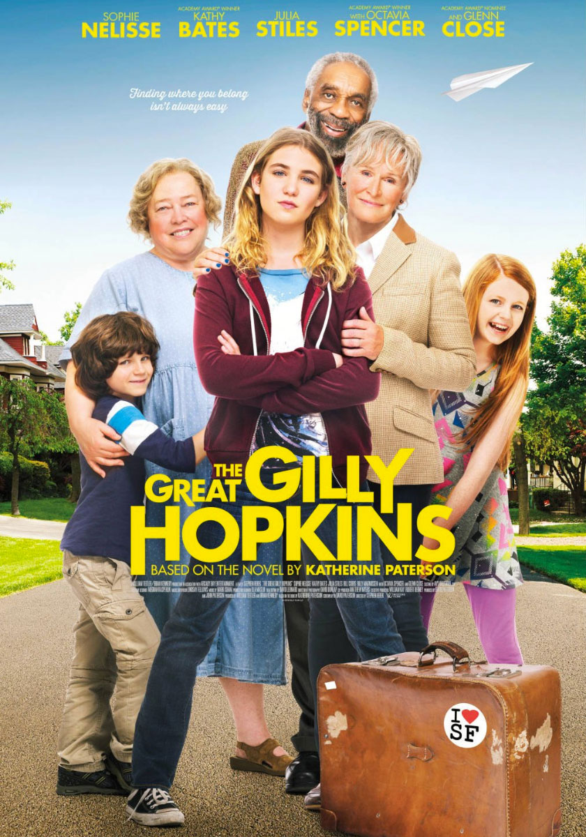 La grande Gilly Hopkins poster e locandina