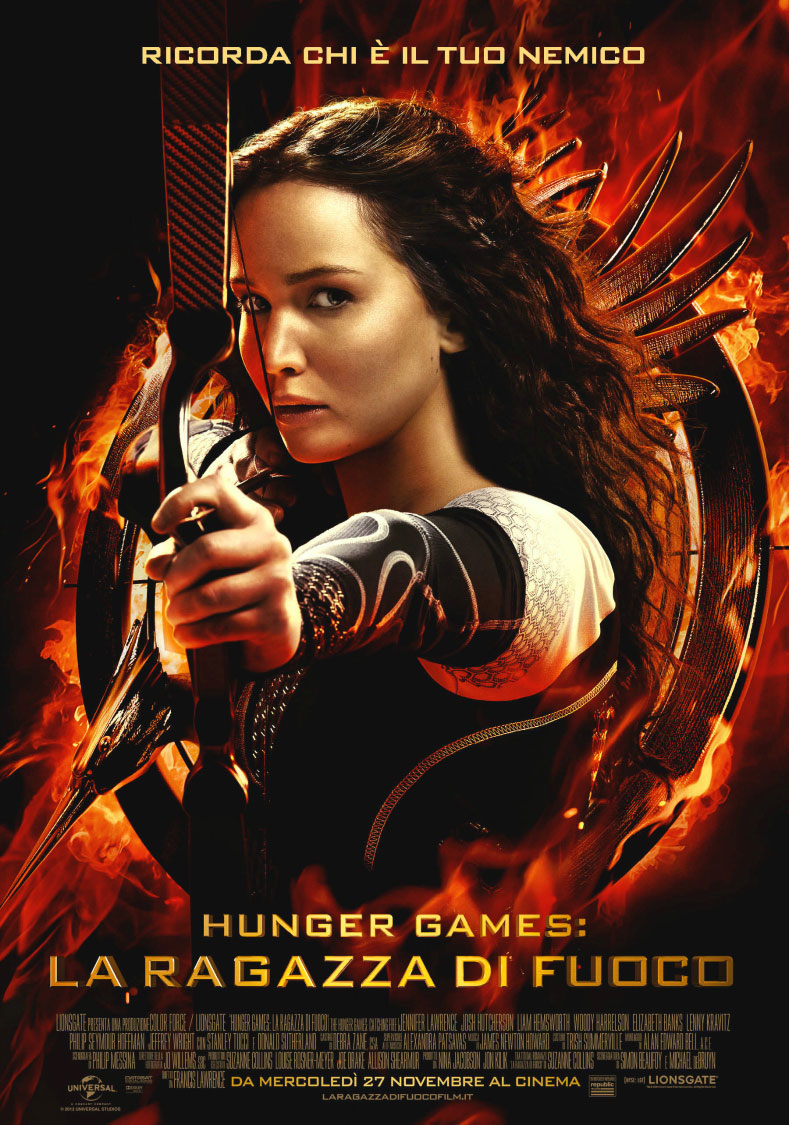 Frasi Belle Hunger Games Libro.Frasi Del Film Hunger Games La Ragazza Di Fuoco