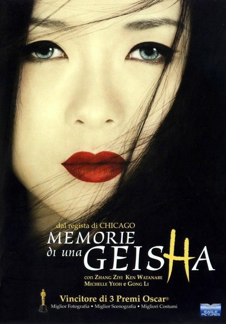 Risultati immagini per Memorie di una Geisha
