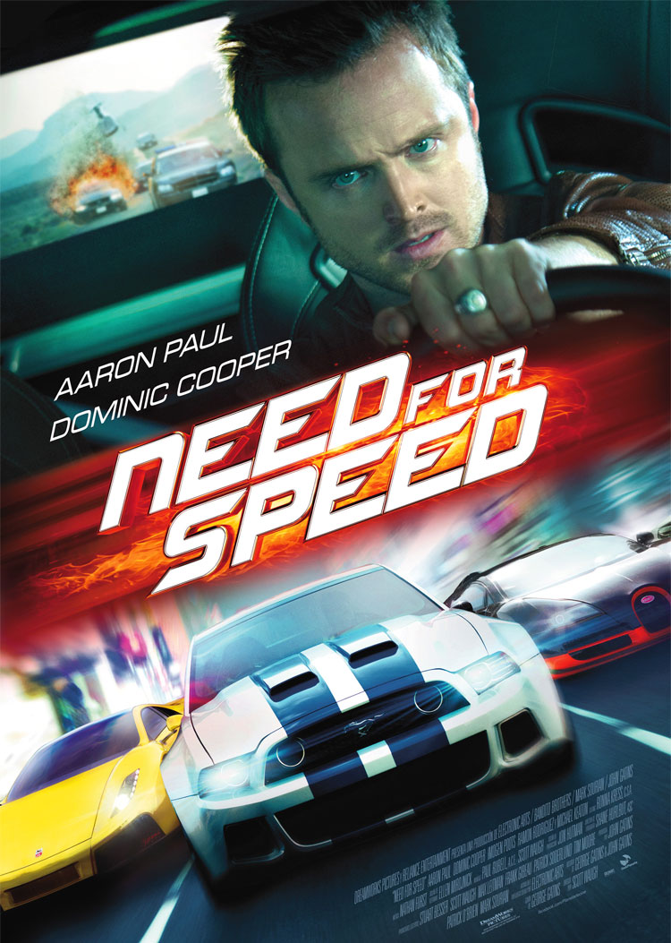 Need for Speed poster e locandina