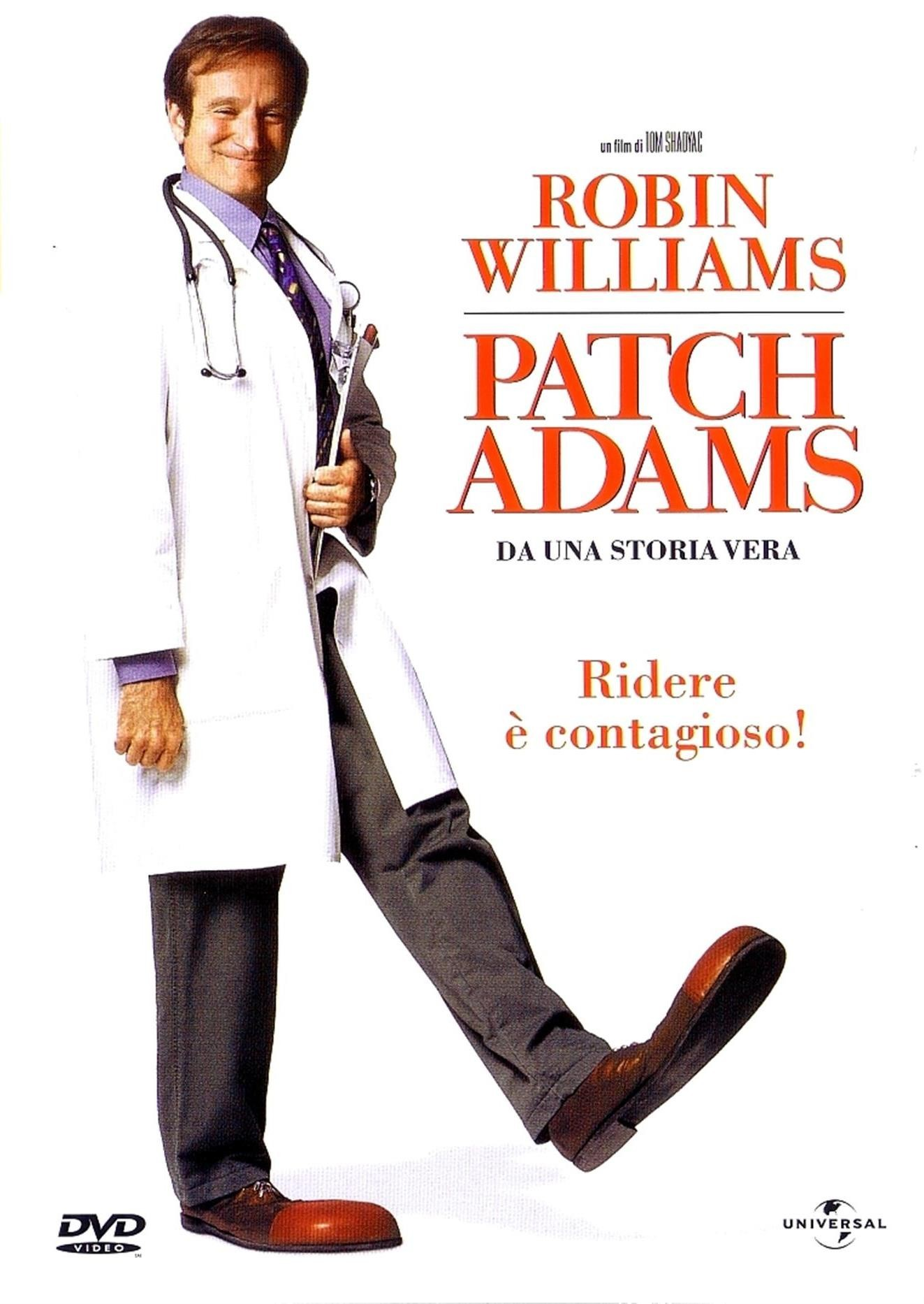 Patch Adams poster e locandina