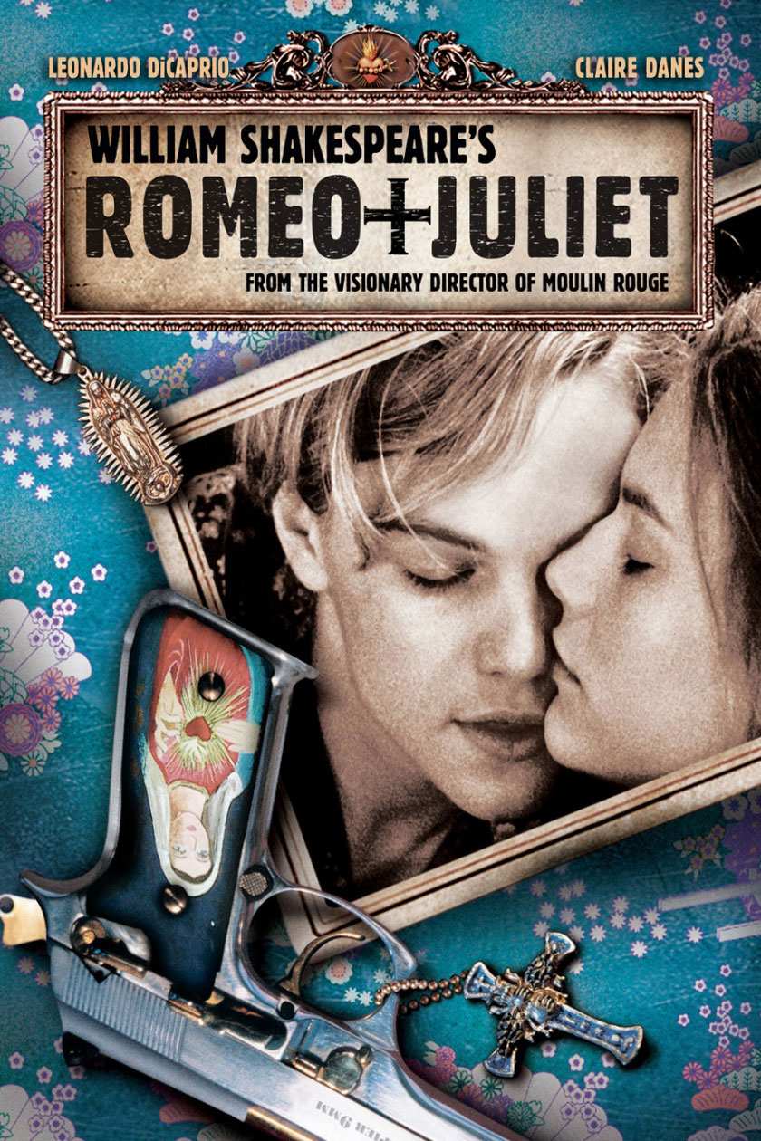 Romeo + Giulietta di William Shakespeare poster e locandina