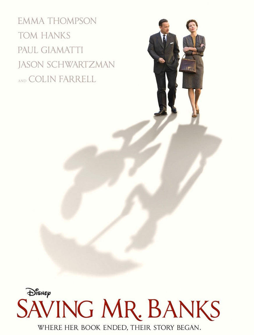 Saving Mr Banks poster e locandina