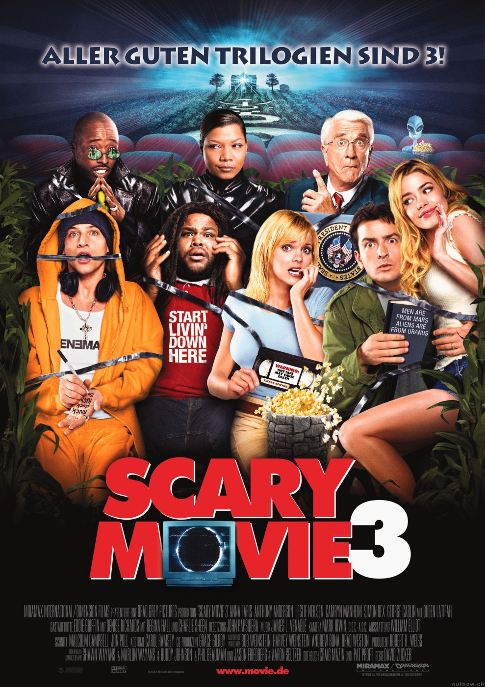 Scary Movie 3 poster e locandina