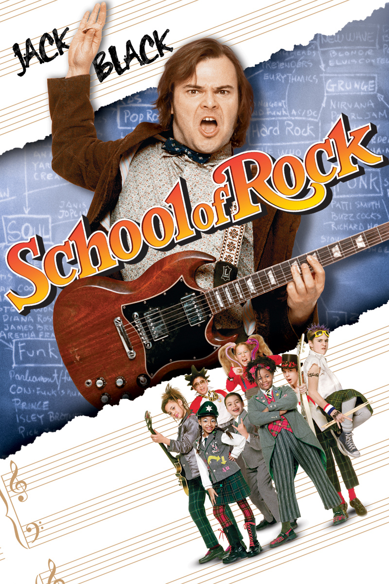 School of Rock poster e locandina