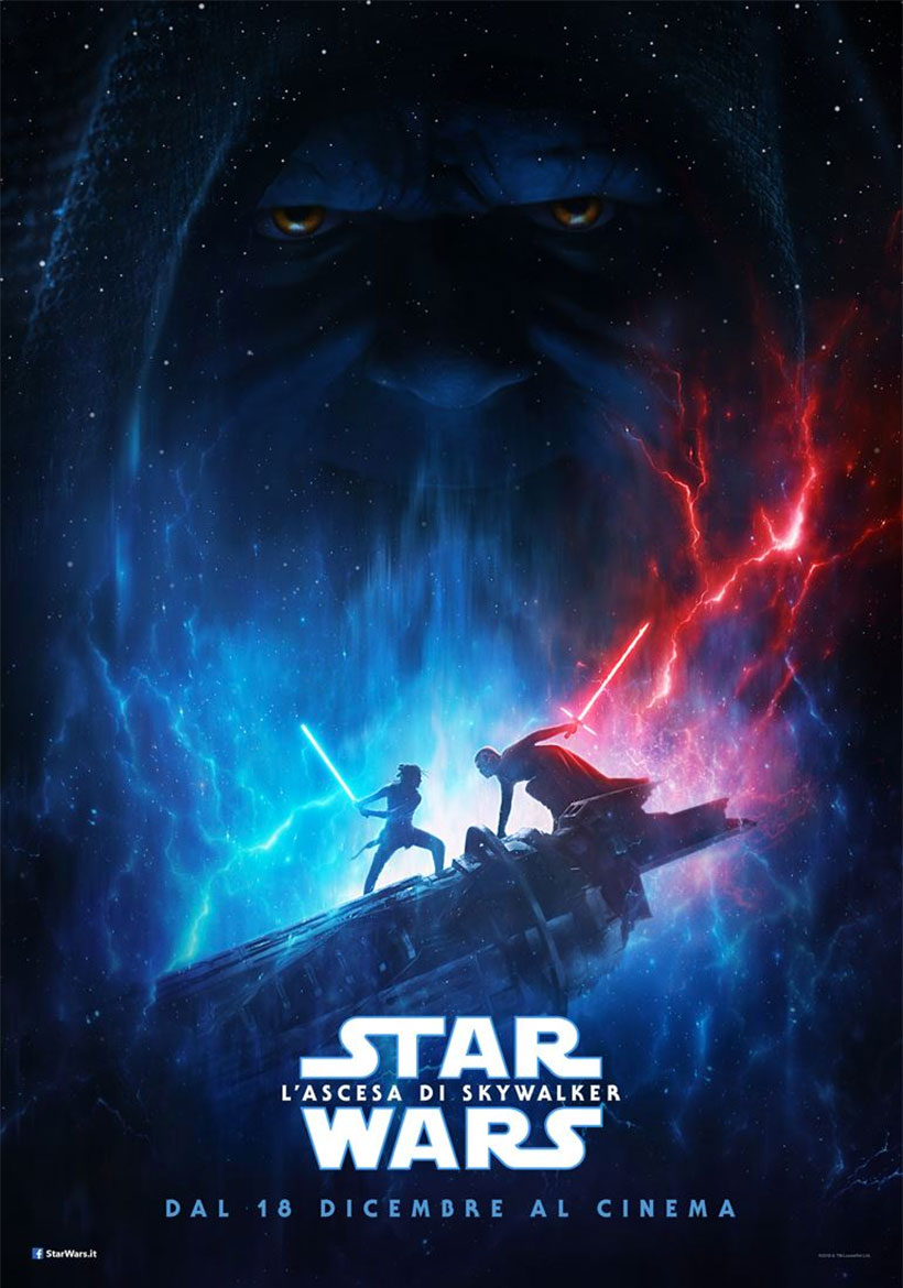 Star Wars - L'ascesa di Skywalker poster e locandina