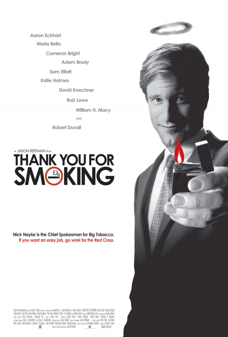 Thank You for Smoking poster e locandina
