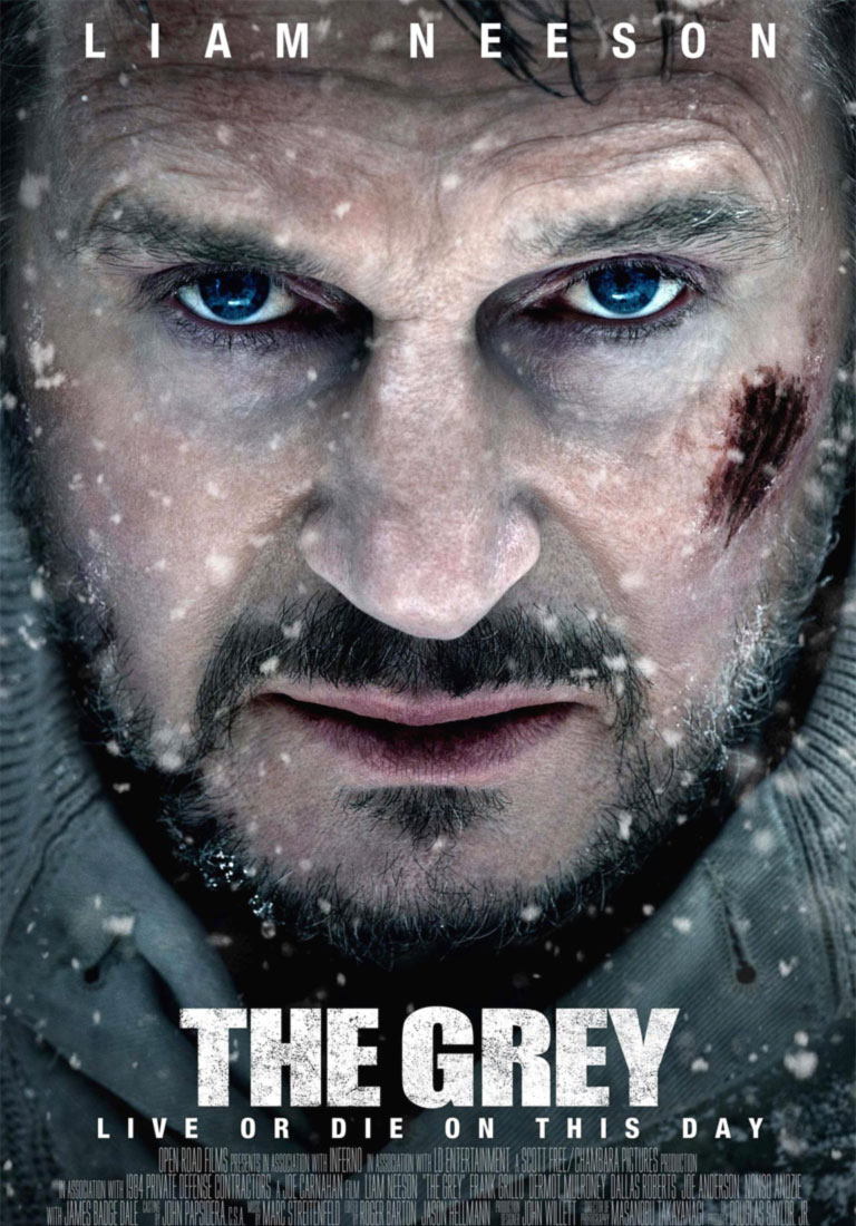 The Grey poster e locandina