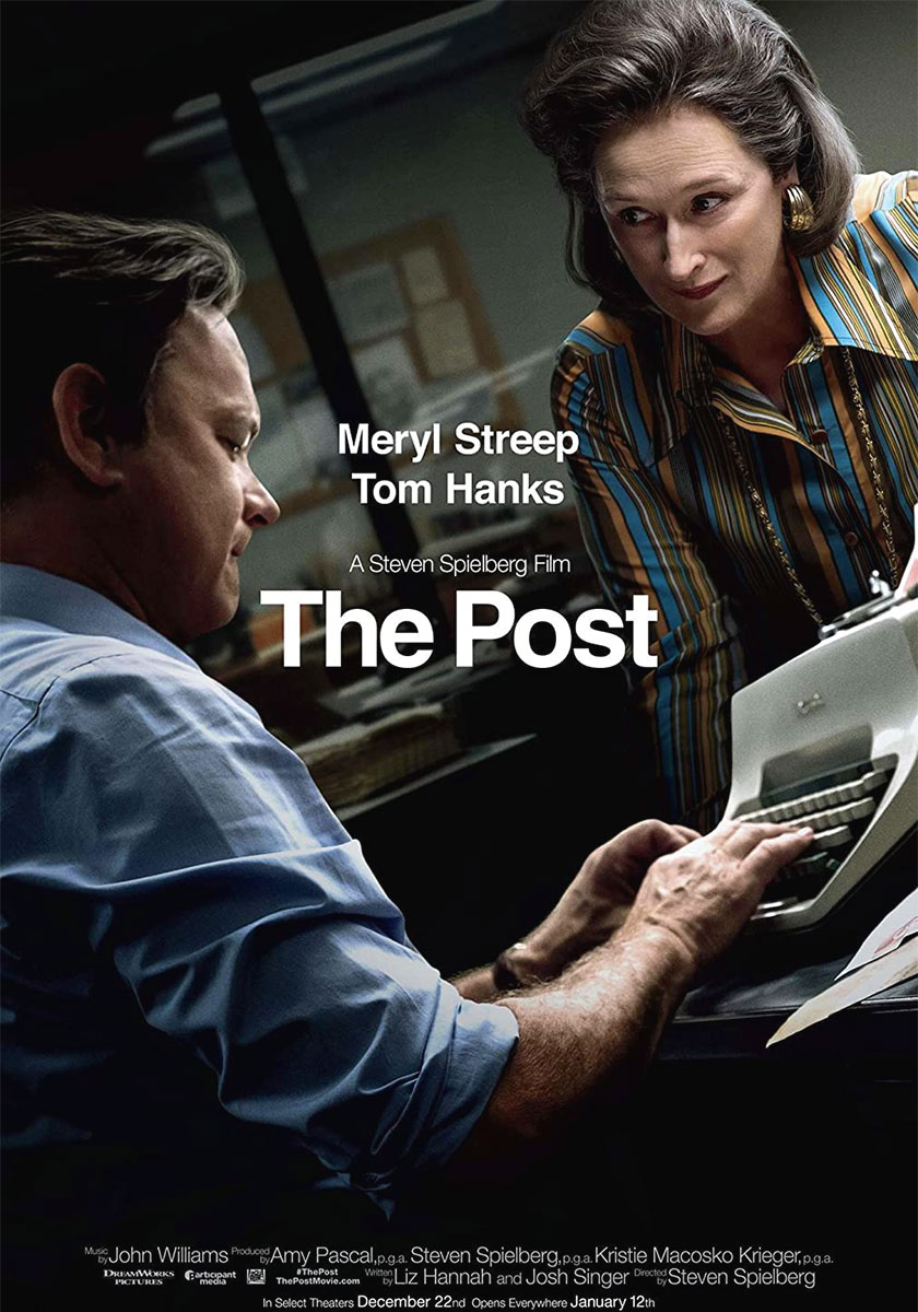 The Post poster e locandina