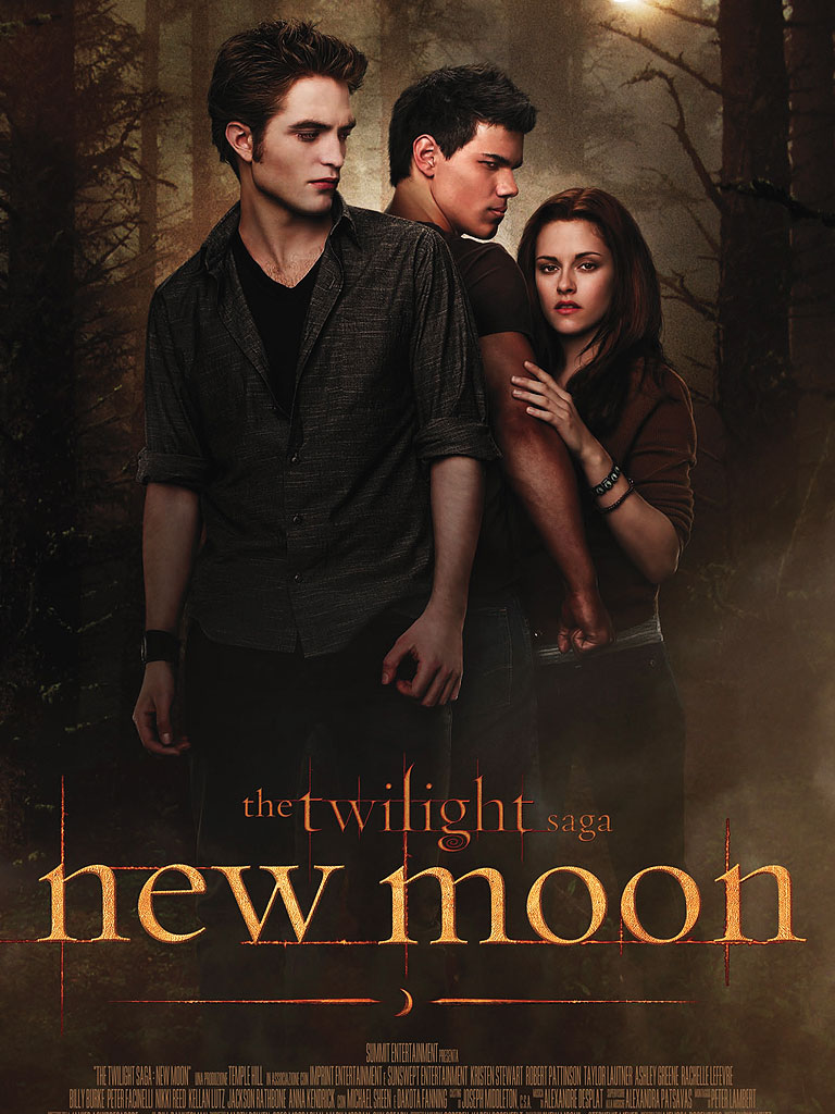 The Twilight Saga: New Moon poster e locandina