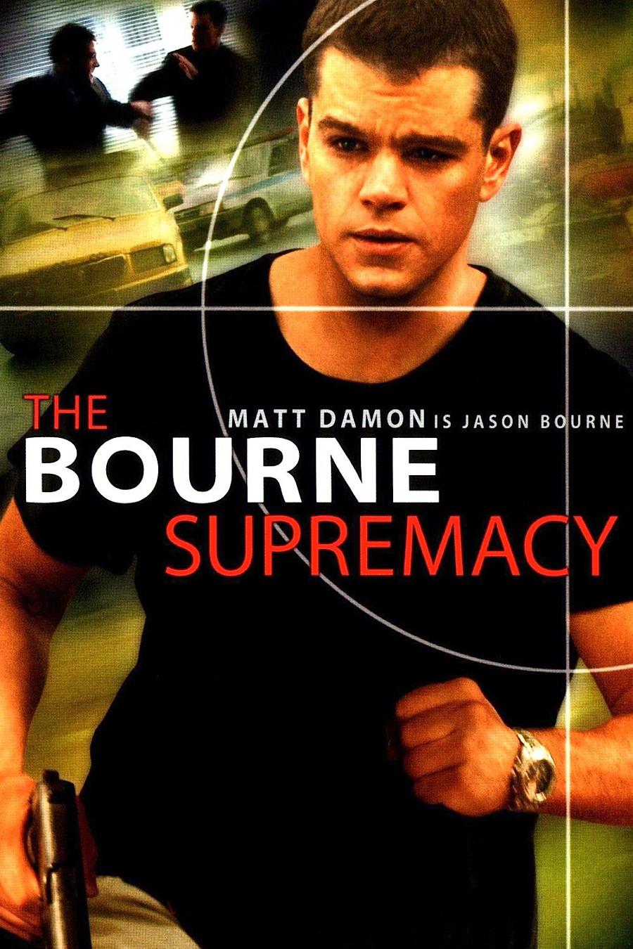 Risultati immagini per The Bourne Supremacy