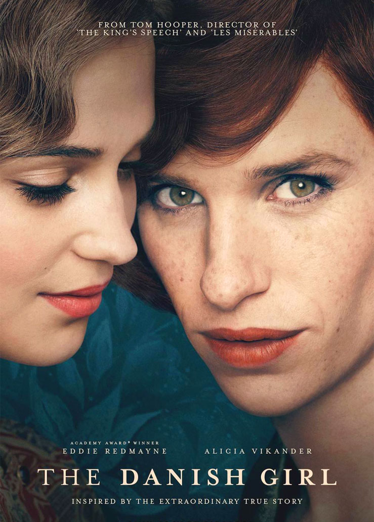 The Danish Girl poster e locandina