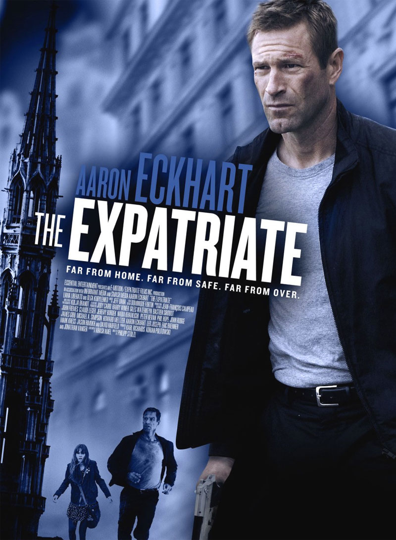 The Expatriate poster e locandina