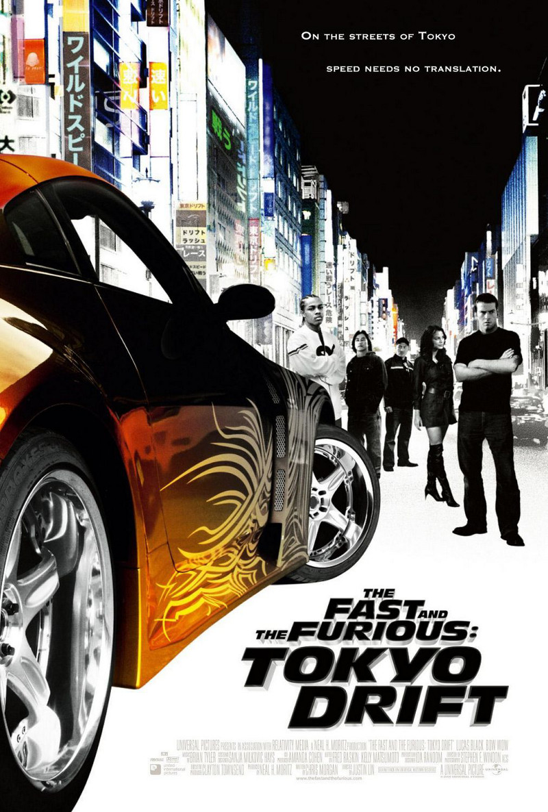 The Fast and the Furious: Tokyo Drift poster e locandina