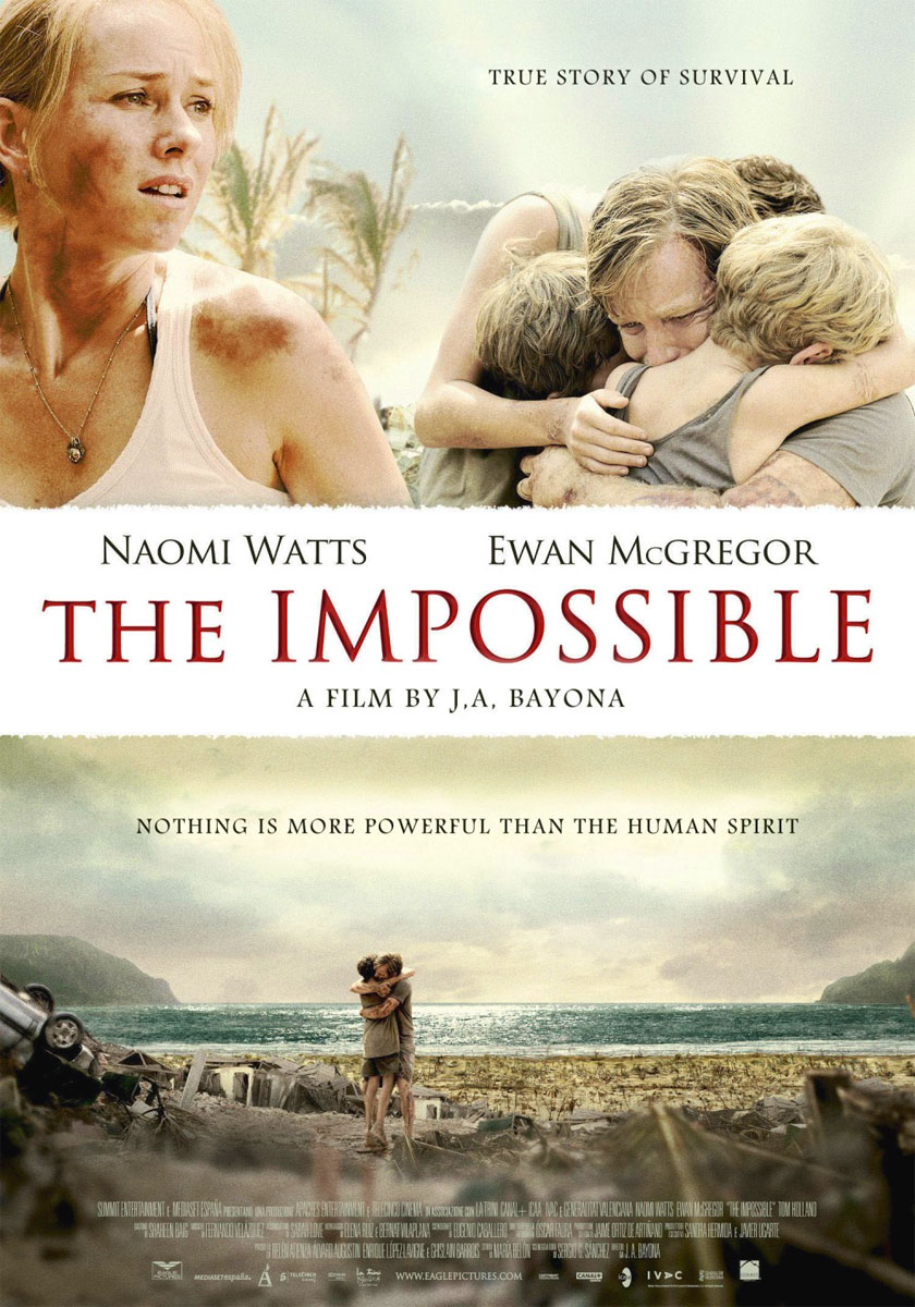 The Impossible poster e locandina