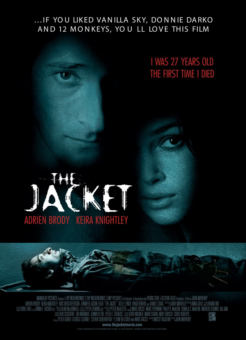 The Jacket poster e locandina