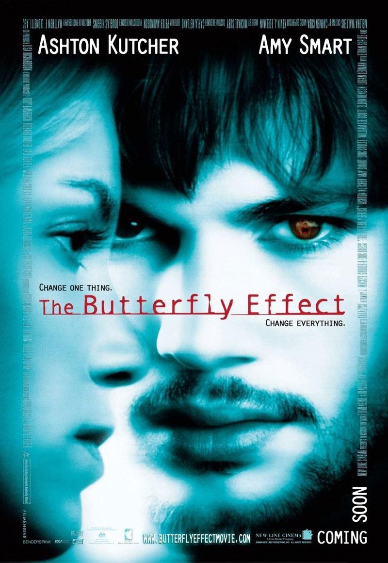 The Butterfly Effect poster e locandina
