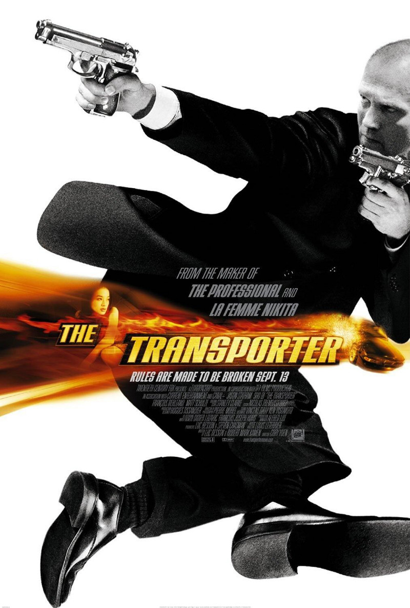 The Transporter poster e locandina