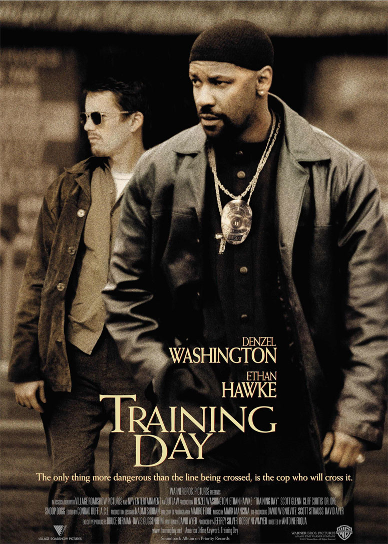 Training Day poster e locandina