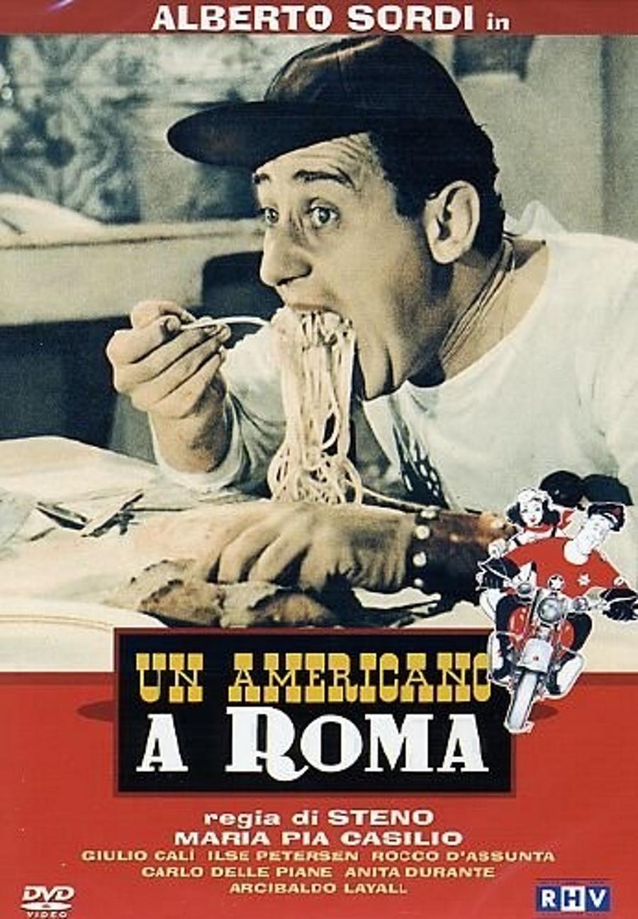 Preferenza Un americano a Roma, locandina e poster MB96