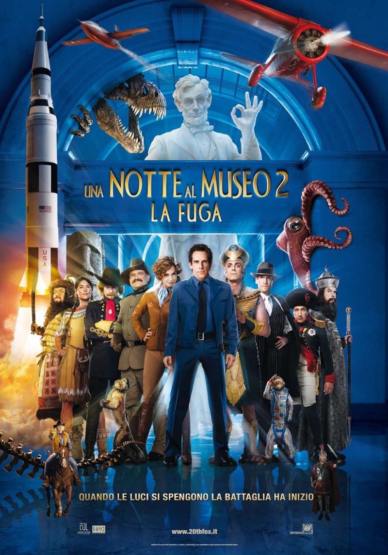 Notte Al Museo.Frasi Del Film Una Notte Al Museo 2 La Fuga