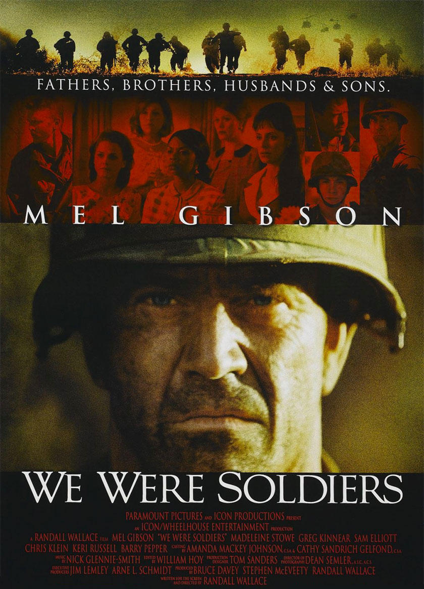 We Were Soldiers poster e locandina