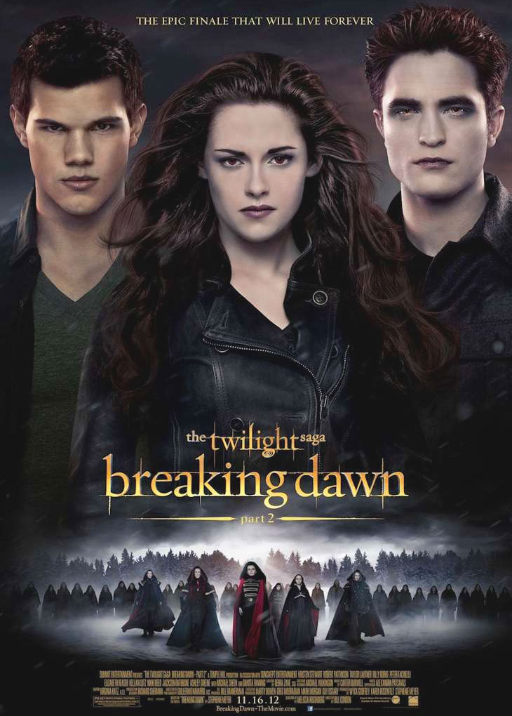 The Twilight Saga: Breaking Dawn - Part 2 poster e locandina