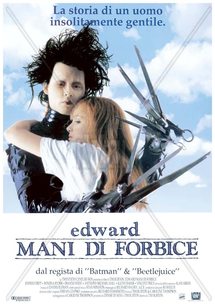 Conosciuto Frasi del film Edward mani di forbice XR34